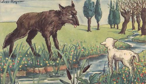 """Top 4 Bài văn phân tích bài """"Chó sói và Cừu trong thơ ngụ ngôn của La Phông-ten"""" của Hi-pô-lít Ten 2"""